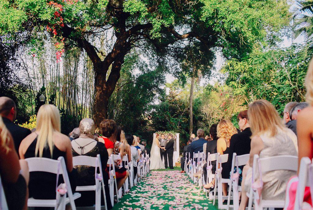 Jessica And Rich Sunken Garden Wedding In St Petersburg Florida