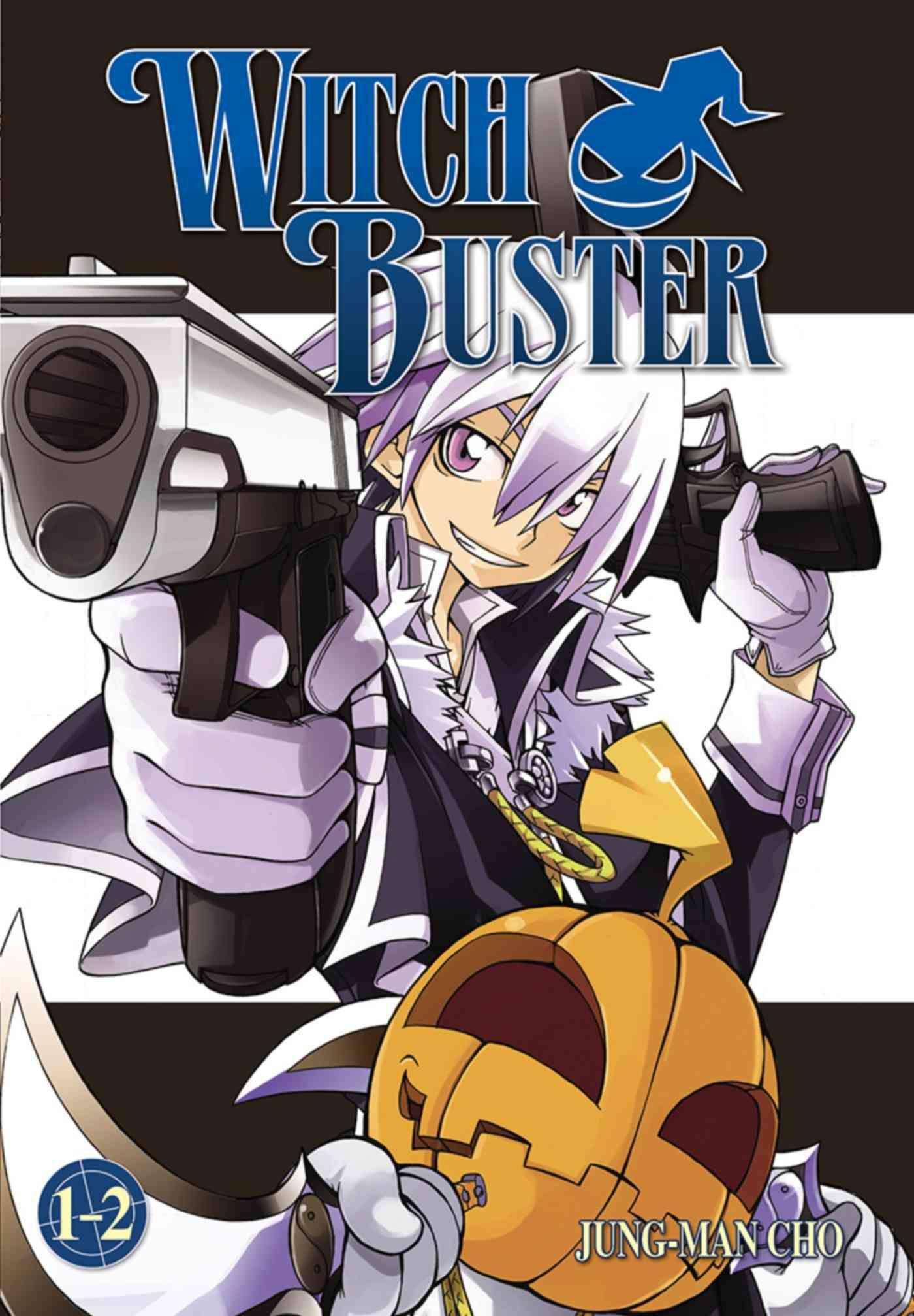 Witch Buster 12 Anime, Shōnen manga, Manga