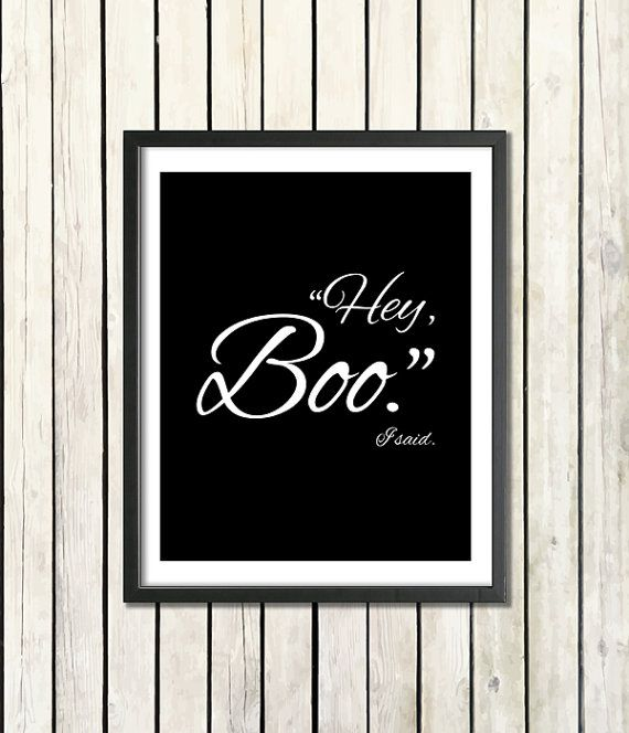 to kill a mockingbird download printable quote hey boo by quotype - Mocking Bird Download