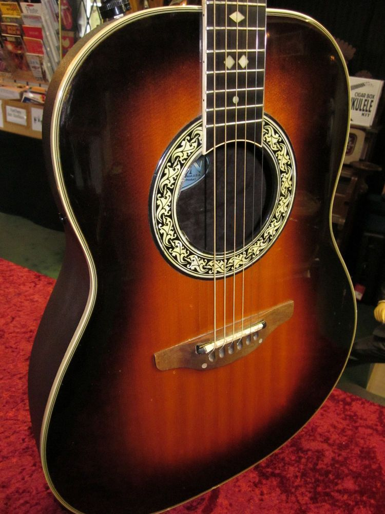 2895c4b91d Vintage Ovation Guitar Model 1617 USA Made Acoustic Electric Guitar #Ovation