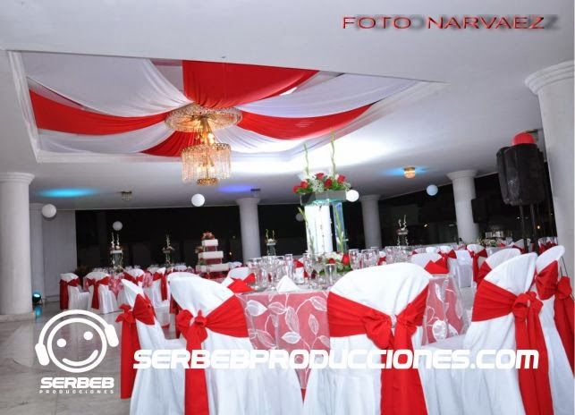 Decoracion Rojo Y Blanco