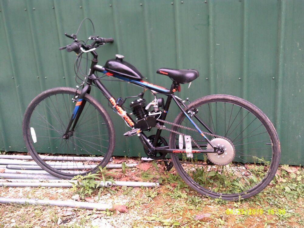 Advertisement Ebay New 2 Stroke 80cc Complete Motorized Bike Kit