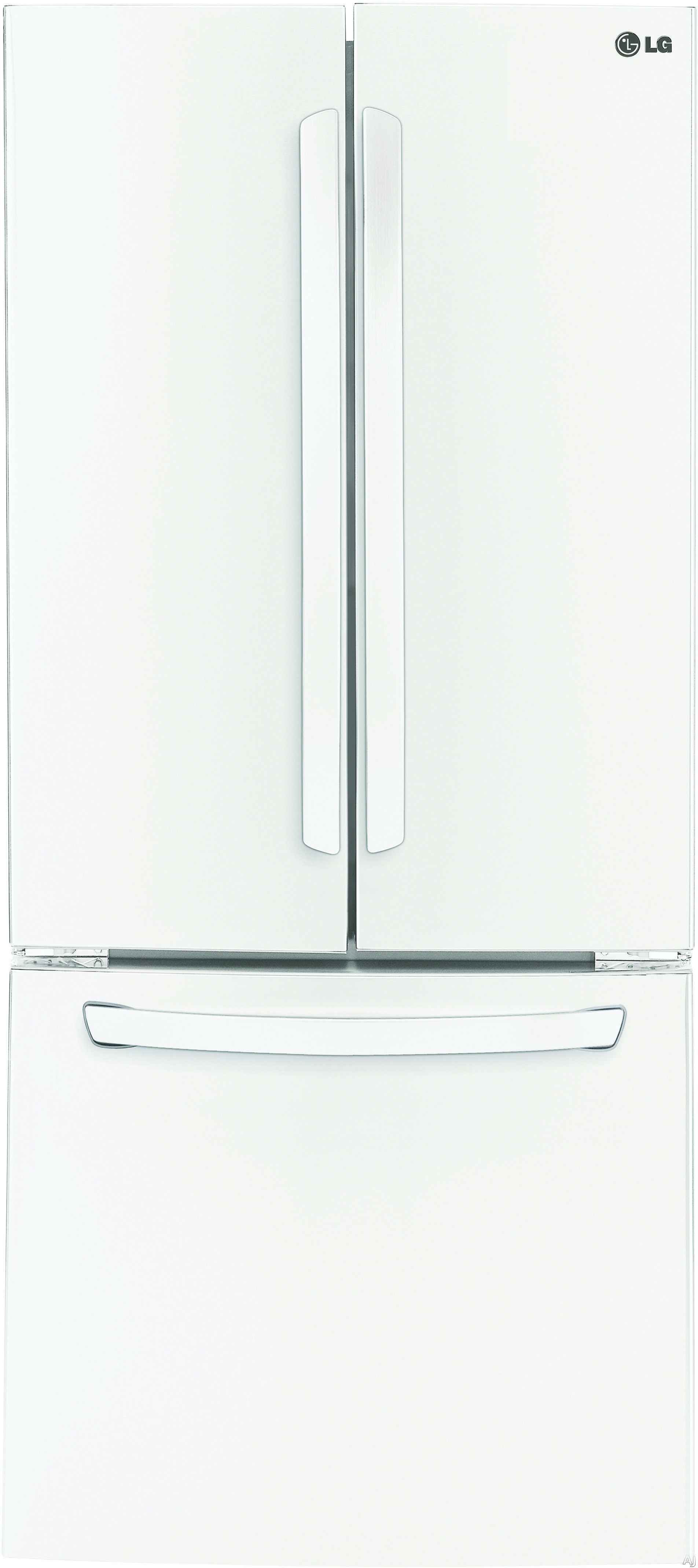 LG LFC22770SW 30 Inch French Door Refrigerator With Linear Compressor Smart  Cooling System Ice Maker SpillProtector