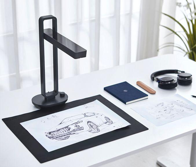 Top Scanners: ••CZUR Aura foldable lamp scanner•• preorder 2018-09