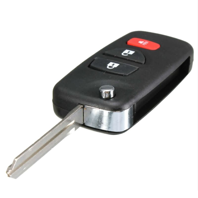AUTO 3 Button Folding Remote key Case For Nissan Frontier