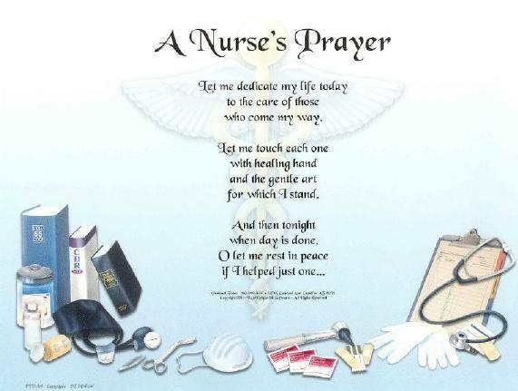 Nurse Prayer Poem | Nurses prayer, Prayer poems and Poem
