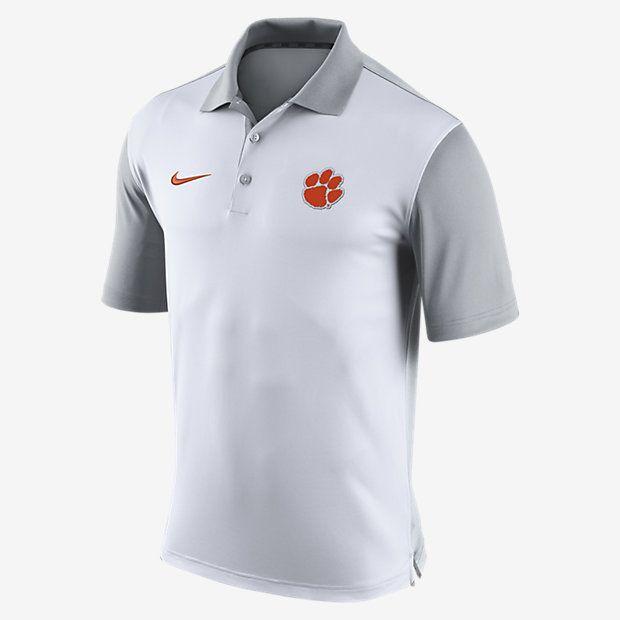 best authentic f1fb6 bf539 Nike Preseason (Clemson) Men's Polo | Clothes | Polo shirt ...