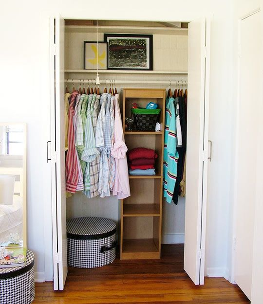 "Dear Apartment Therapy, I love you.  This article contains 10 awesome tips for maximizing storage space.  (My favorite: ""Use the Kitchen Cupboards. Oftentimes a bedroom closet has to do triple duty holding clothes, shoes, bags, blankets and linens (if you don't have the coveted linen closet). But your kitchen might have some shelves up high that some of those winter boots (in boxes) could fit on, or your taxes from 4 years ago could hide in. Don't be afraid to rethink how you use storage…"