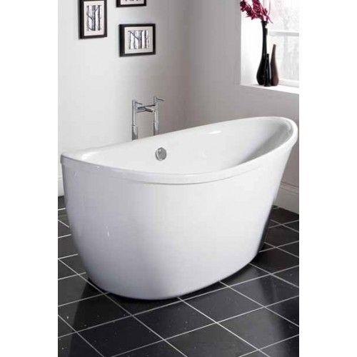 Premier Bathroom Design Teardrop Shaped Freestanding Bath Brand  Premier Bathroom
