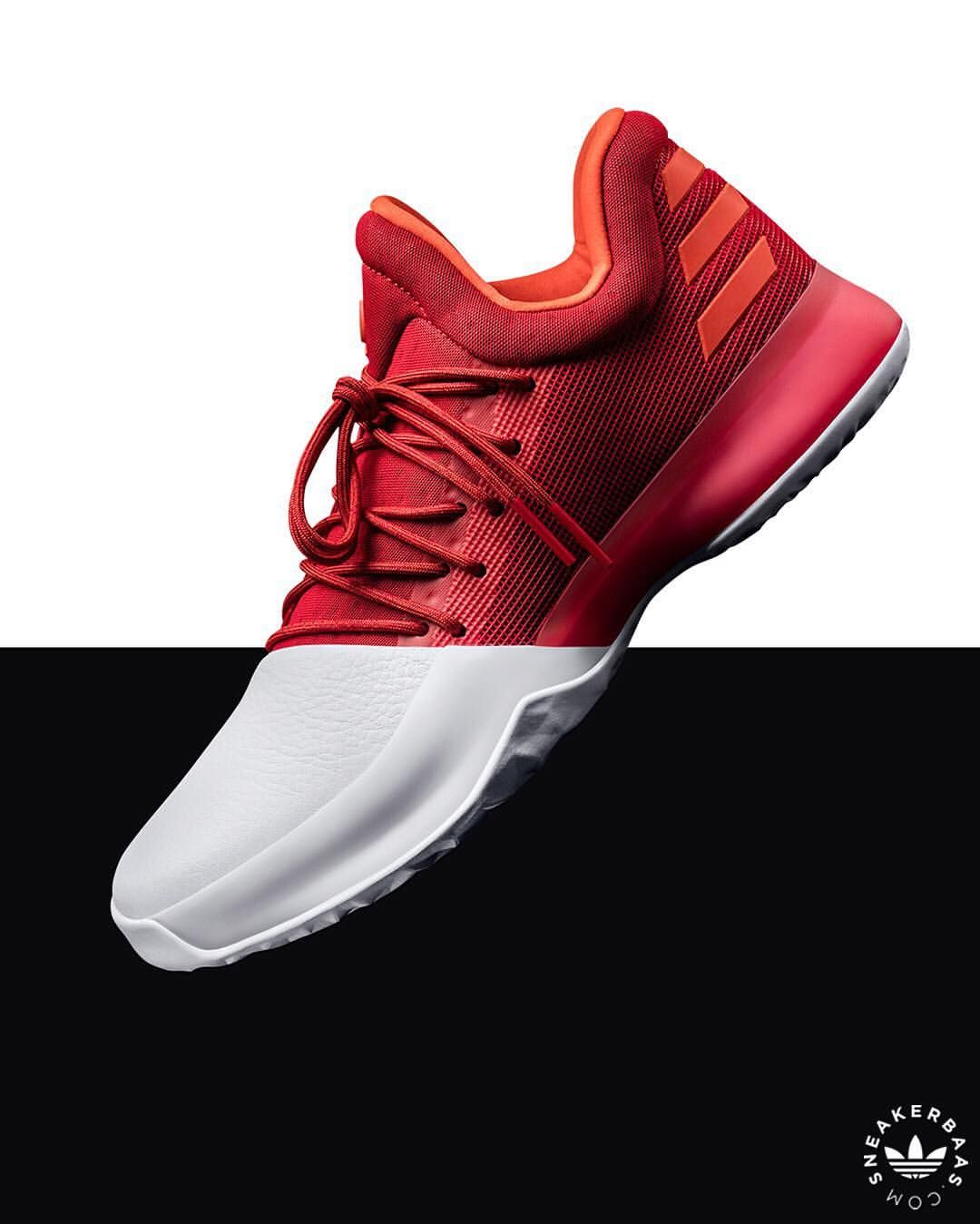 e5d990e0d5e9 Adidas Harden Vol.1 Red   White  sneakers  sneakernews  StreetStyle  Kicks   adidas  nike  vans  newbalance  puma  ADIDAS  ASICS  CONVERSE  DIADORA   REEBOK   ...