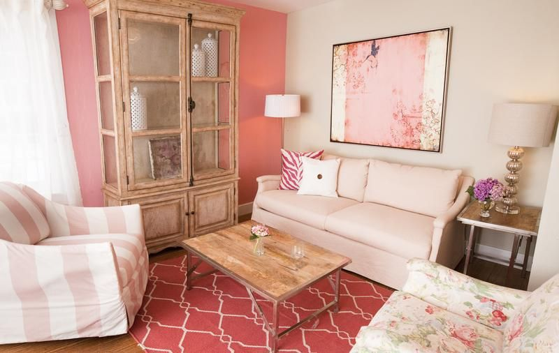 living room antique furniture. 30 Extremely Charming Pink Living Room Design Ideas - Rilane Antique Furniture