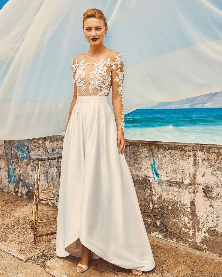 "Elbeth Gillis 2017 Wedding Dress ""Milk and Honey"" Bridal seperates collection : Chloe+Harper + Tara | itakeyou.co.uk #bridedress #weddingdress #weddinggown #weddingdresses #weddinggowns #stapless #bridalseperates"