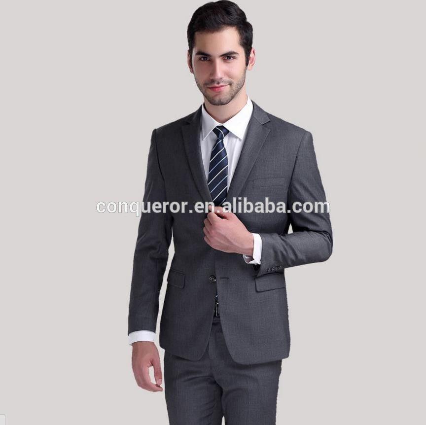 Custom 100% Wool Coat Pant Men Suit Office Uniform Design - Buy ...