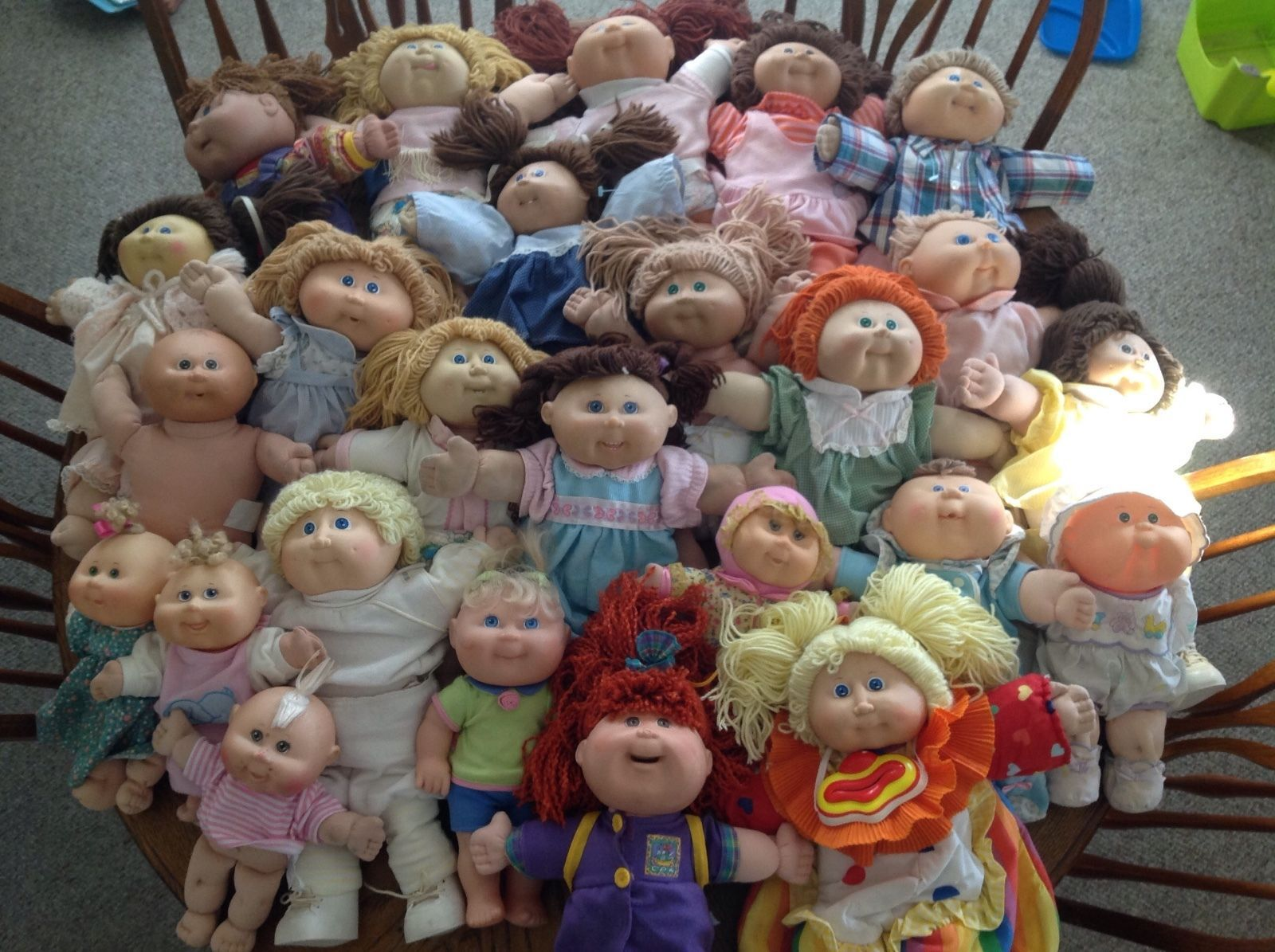 Cabbage Patch Dolls Huge Lot Vintage Dolls Collectables Trapillo Animales