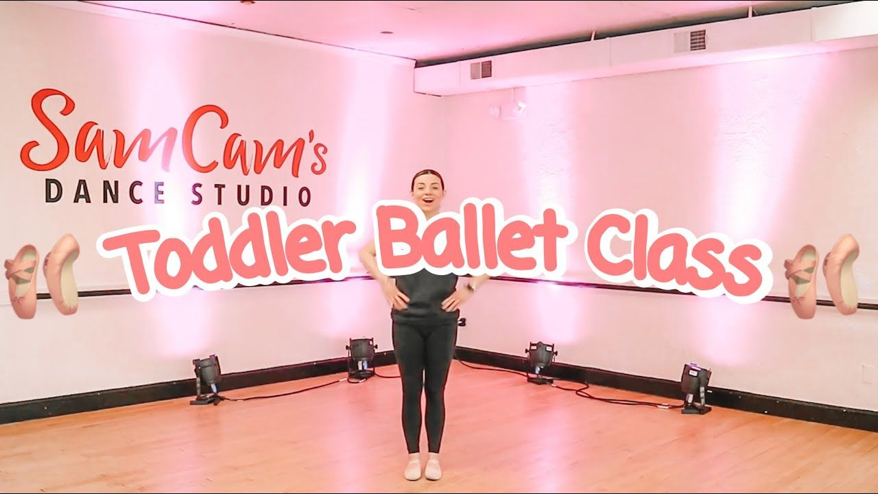 Free Online Toddler Ballet Class YouTube in 2020