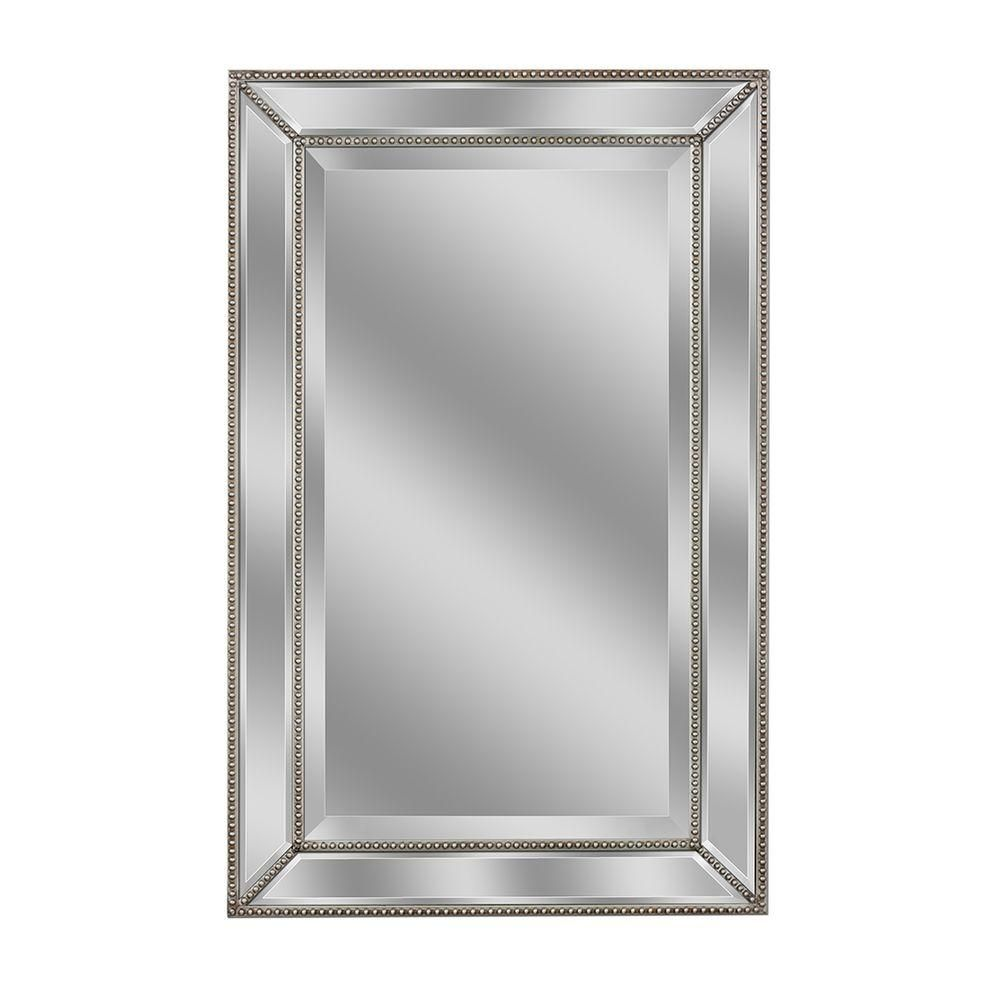 Beveled Beaded Wall Mirror | http://drrw.us | Pinterest | Mirror ...