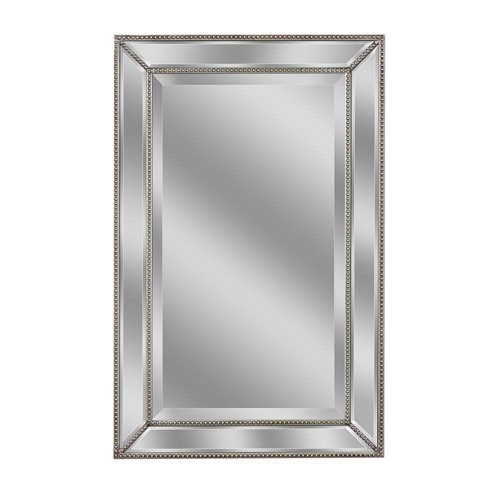 Beveled Beaded Wall Mirror | http://drrw.us | Pinterest | Mirror ...