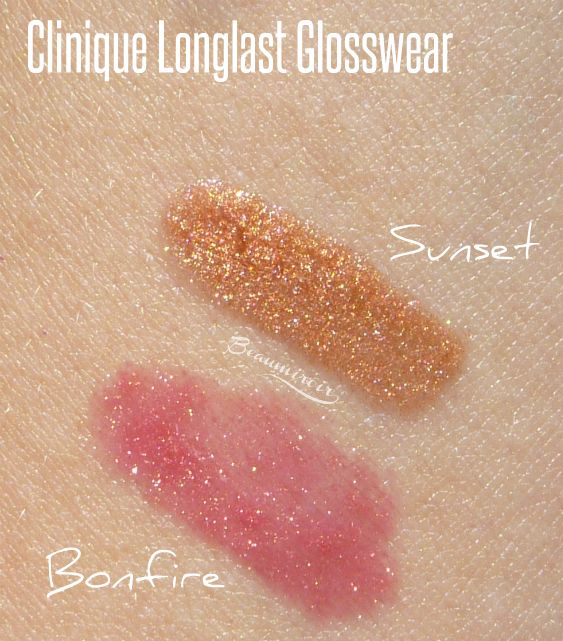 Clinique Long Last Glosswear in Bonfire & Sunset: the perfect ...