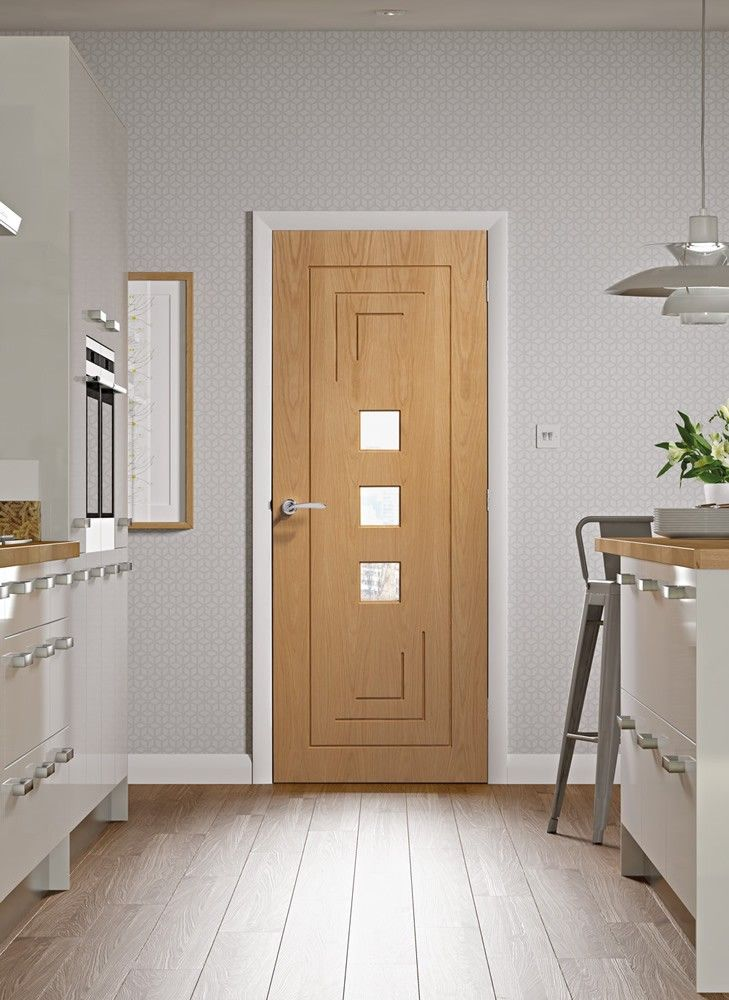 Altino pre finished internal oak door with clear glass internal altino pre finished internal oak door with clear glass planetlyrics Gallery