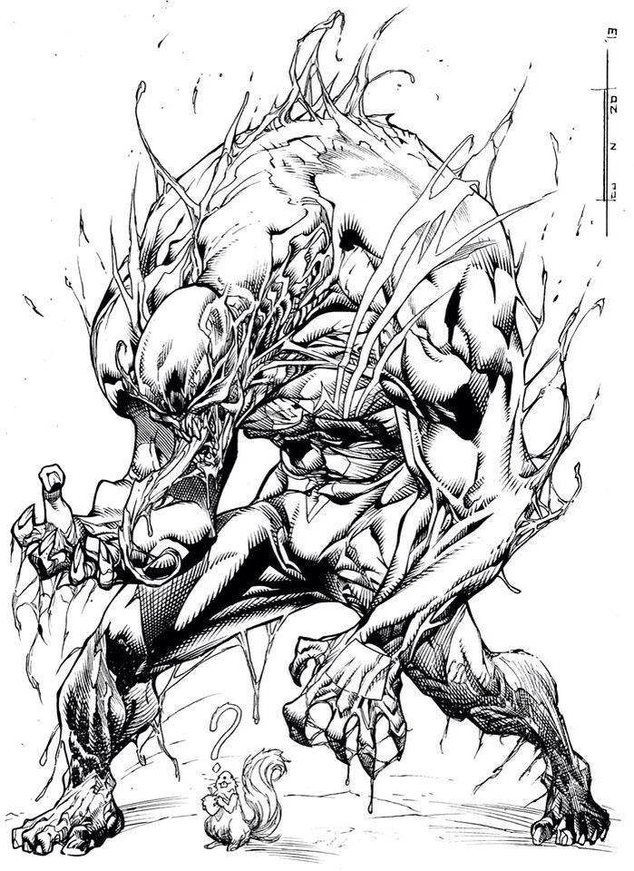 Venom - Paolo Pantalena   Marvel   Simbiontes, Enemigos y Dibujos
