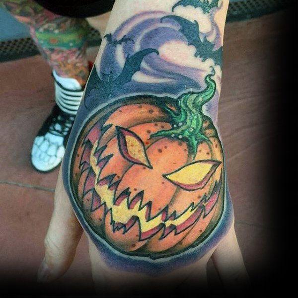 6e44db6eee1ca 80 Halloween Tattoo Designs For Men - Ghoulish Grandeur | Art ...