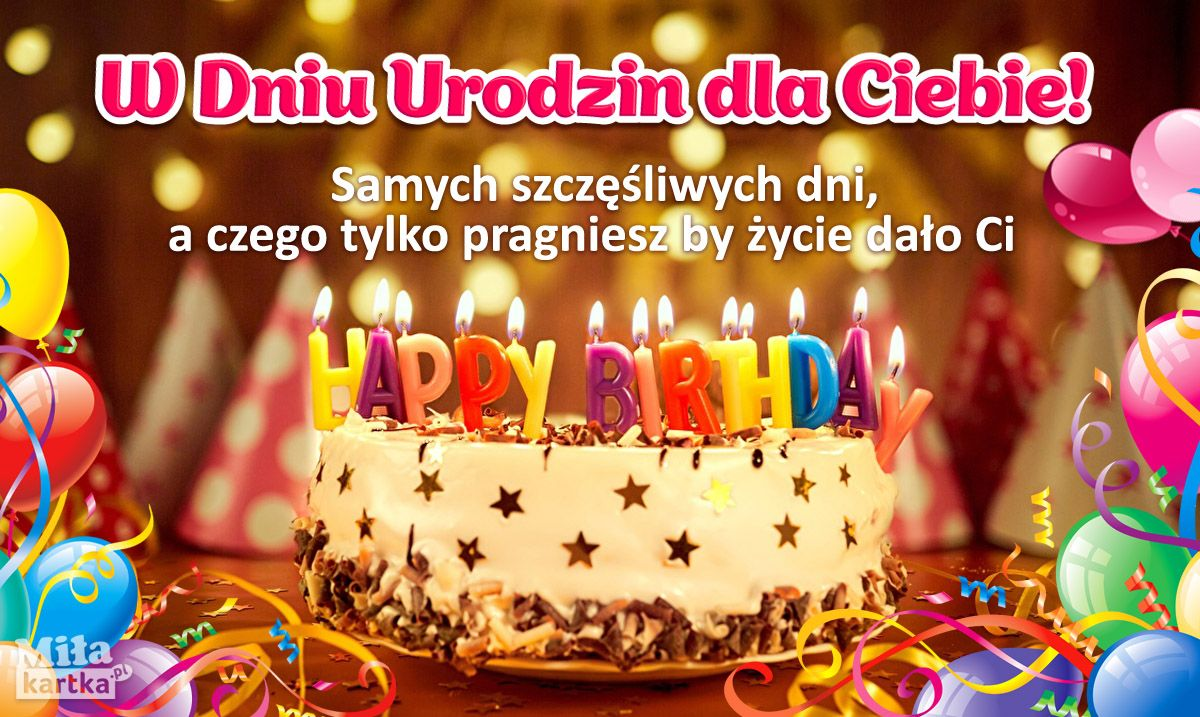 Pin Na Kartki Urodzinowe