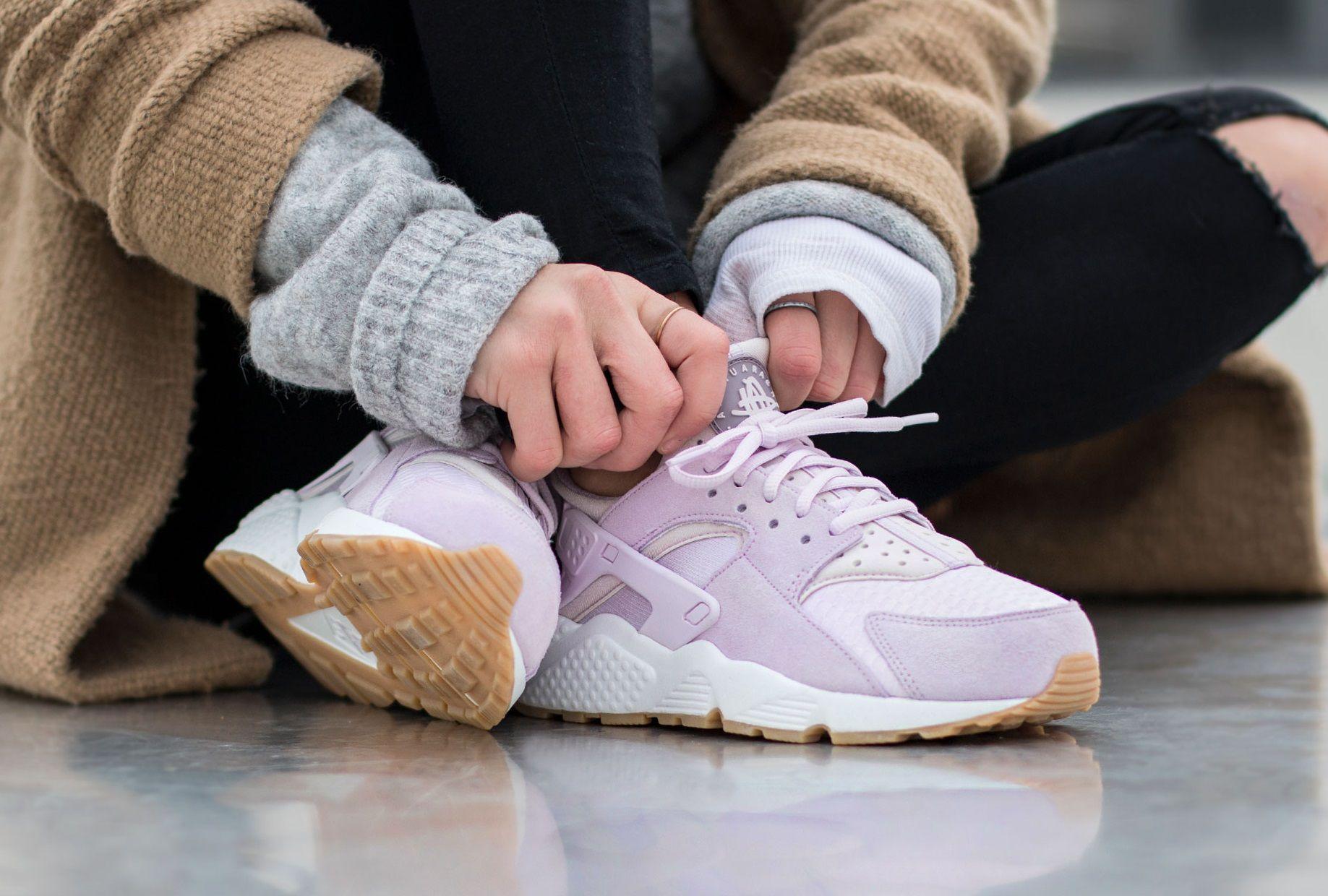 Huarache Huarache Sneakers Nike Air Lilacwhitegum FqItTwx5