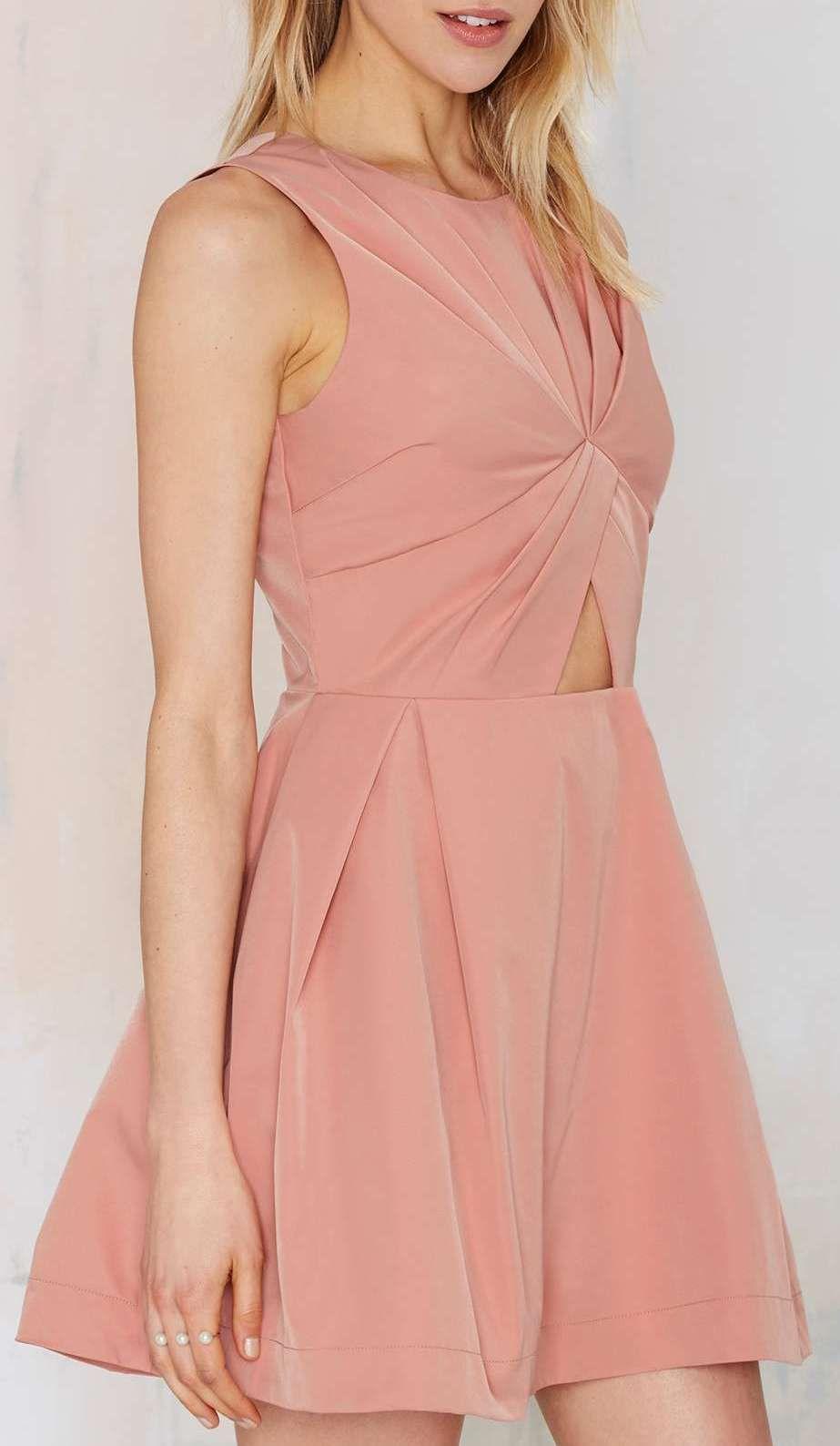 Knot in Love Cutout Dress