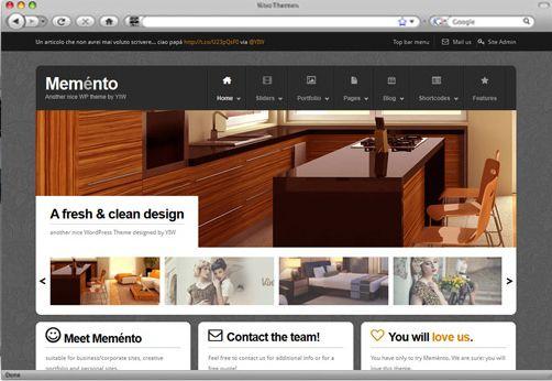 Download WordPress Theme Memento – Yithemes FREE | Places to Visit ...