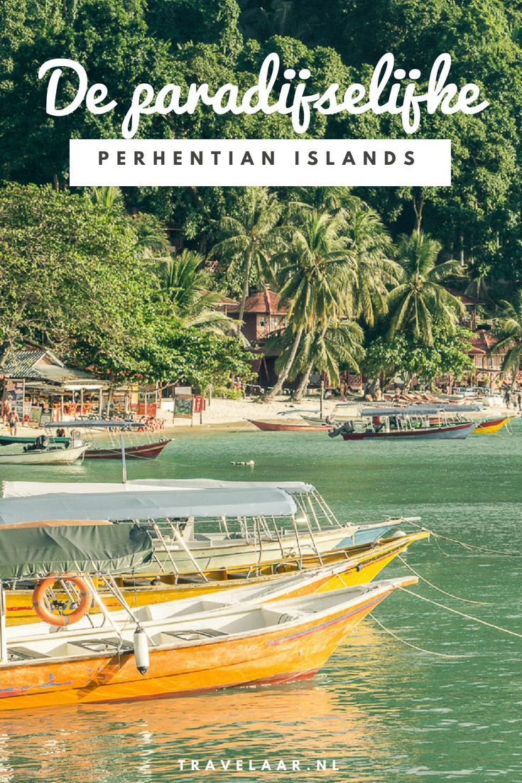 Perhentian Islands - Maleisië De Perhentian Islands of Perhentians zijn wat mij betreft de mooiste eilanden in Maleisië. #Malaysia #Perhentians #PerhentianIslands