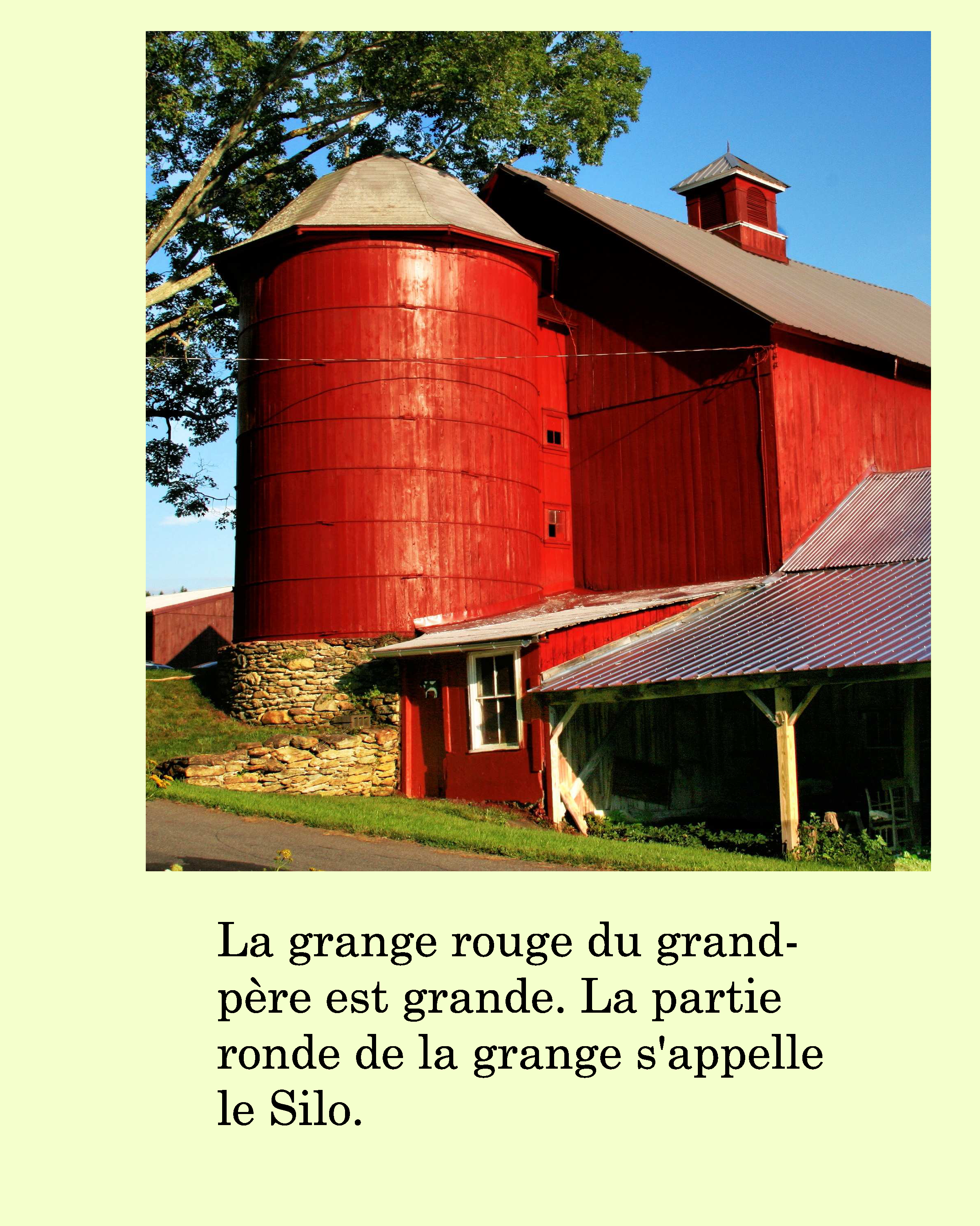 French Farm Story Ebook Plus Vocabulary Worksheets
