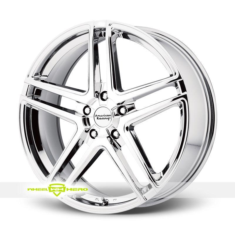 American racing ar907 chrome pvd wheels for sale