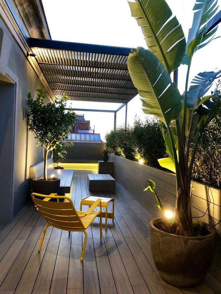 Mas De 55 Ideas De La Mesa Del Balcon Para Su Casa Apartamento Encantador Wohnung Balkon Dekoration Vorgarten Modern Terrassengarten