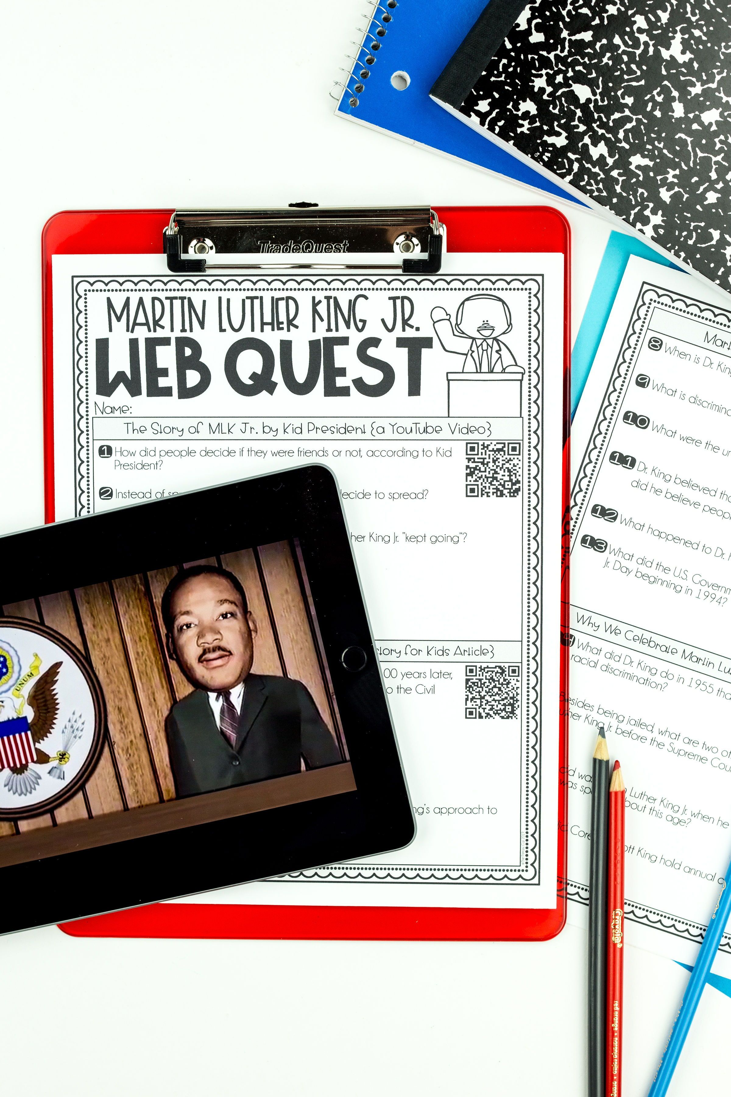 Martin Luther King Jr Reading Amp Writing Activities