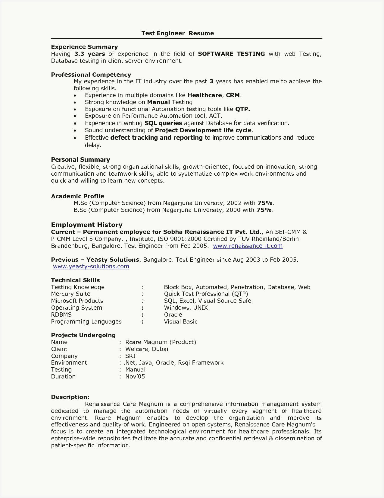 55 example computer science student resume no experience
