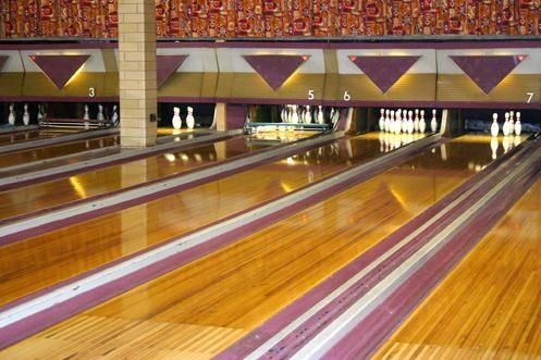 Corpus Christi Has An Athletic Club With A Bowling Alley Athletic Clubs Bowling Retro Design