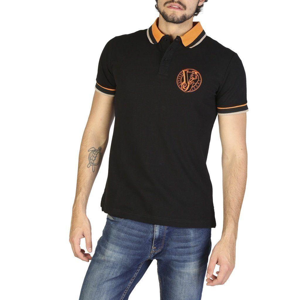 18941e10e Versace Jeans Black Polo Shirt