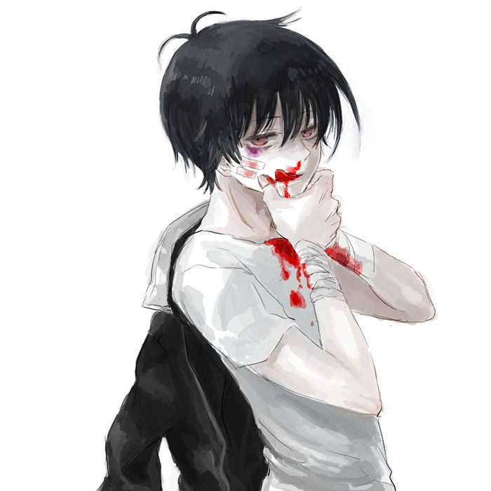 Bloody anime boy Blood Lad