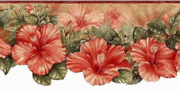flower wallpaper borders