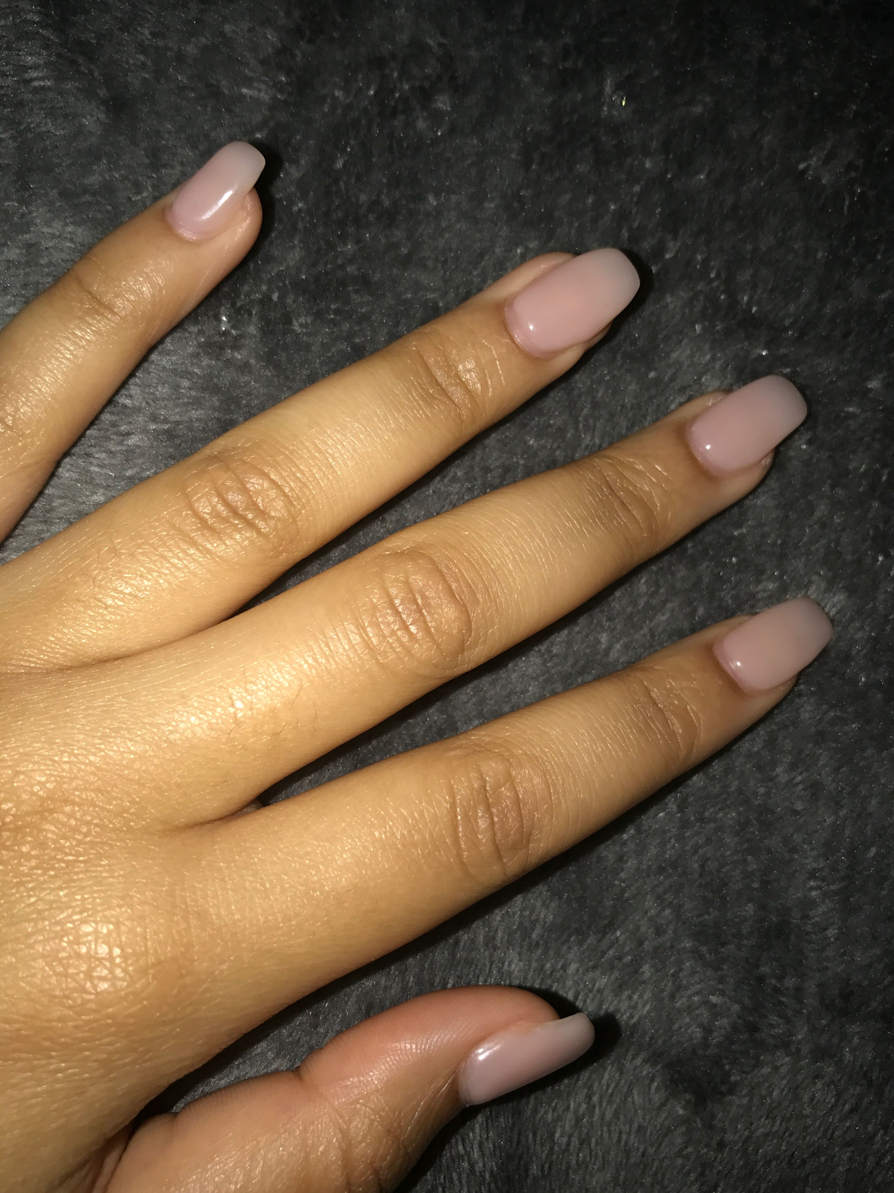 Colour OPI Put it in Neutral Style Gel Nail Shape Coffin