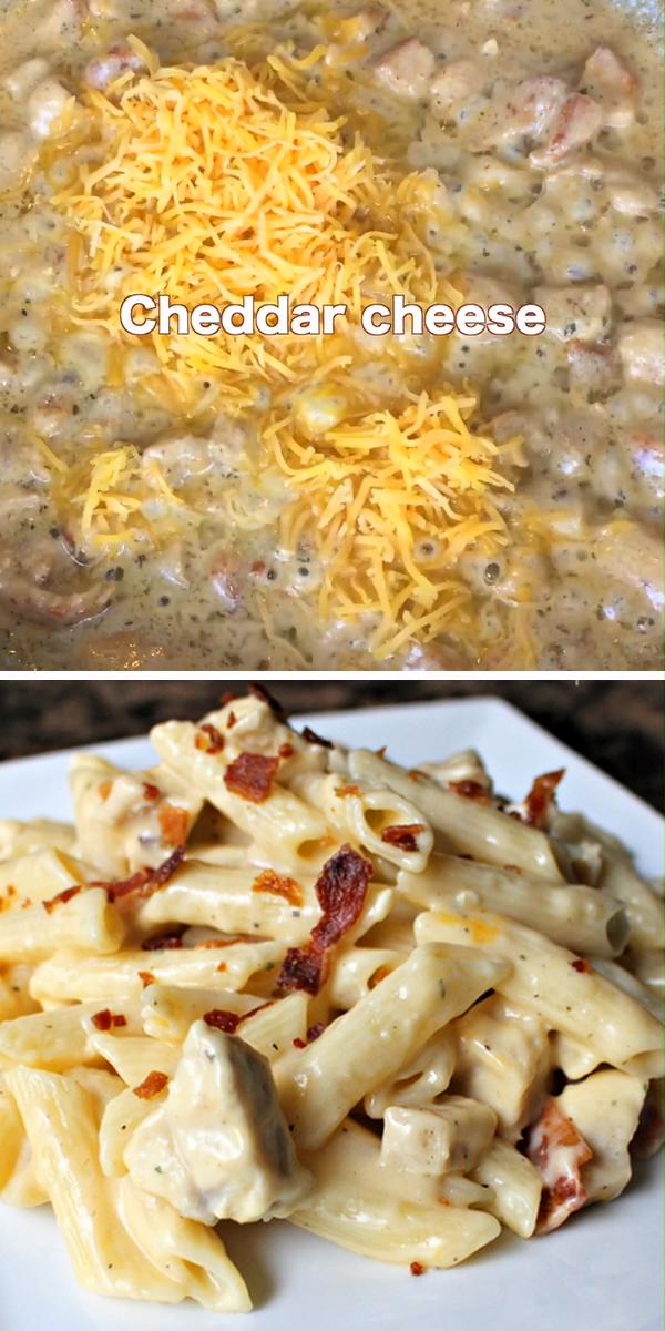 Chicken Bacon Ranch Pasta Recipe images