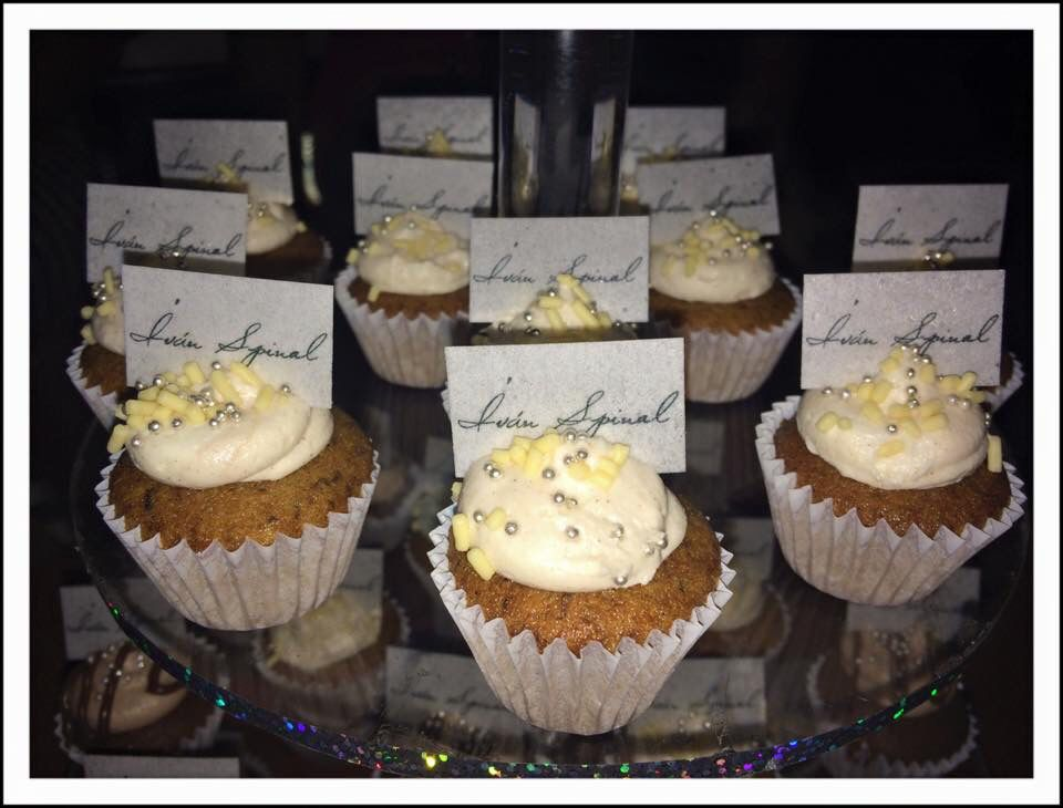 Mini Cupcakes con Obleas personalizadas