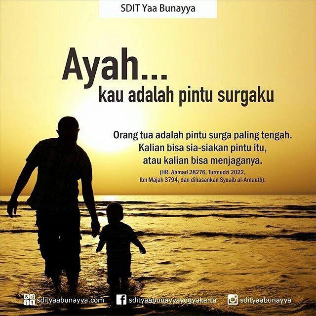 Ayah Kau Adalah Pintu Surgaku Ayah Motivasi Sahabat