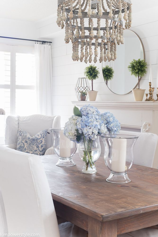 Spring Home Tour Dining Room Table Centerpieces Dining Table
