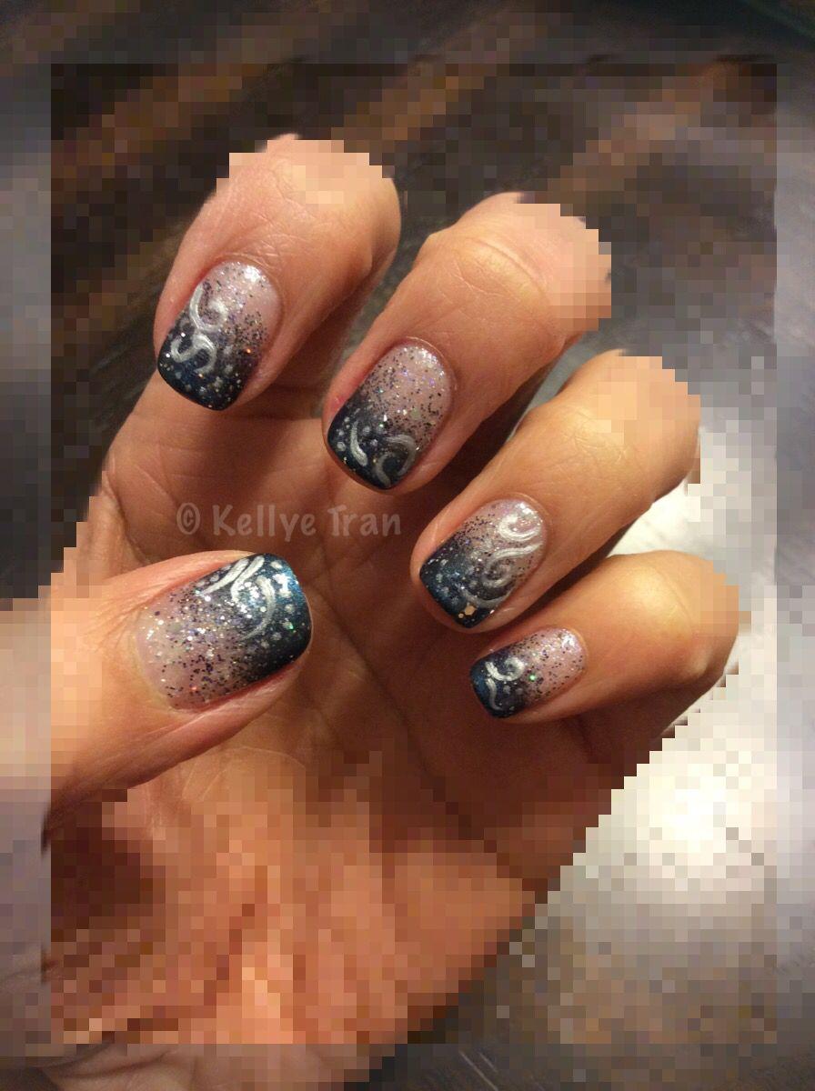 Newyearsnails Nailart Gelish Shellac Additives Ombre