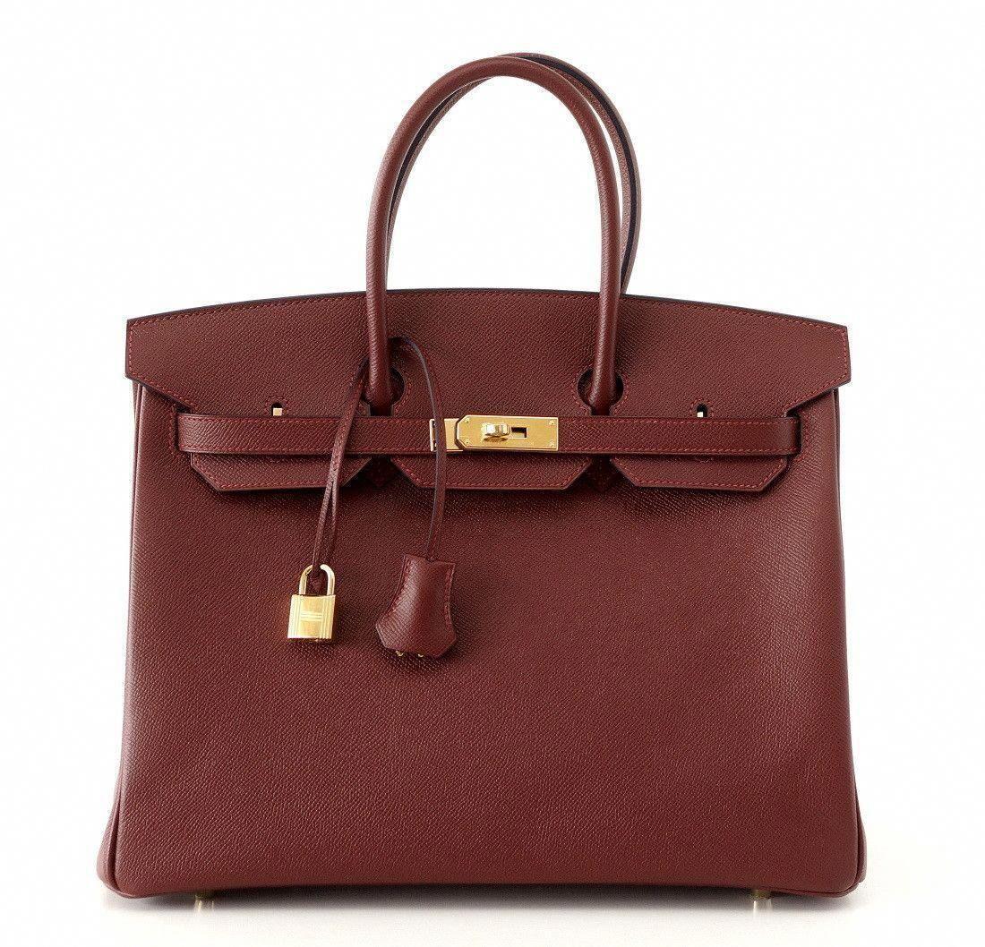 3dcf87e751 Hermes Birkin leather tote