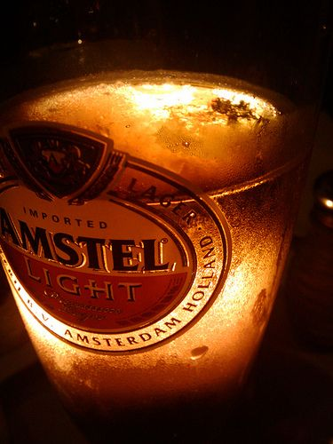 Amstel Light Beer Vodka Bottle Bottle