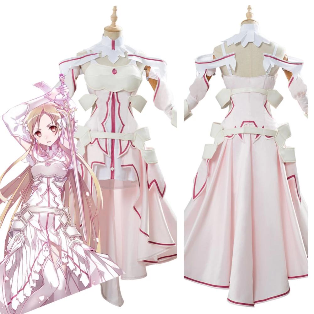 Sword Art Online Sao Alicization Yuuki Asuna Cosplay Costume New Cosplaysky In 2020 Sword Art Sword Art Online Cosplay Sword Art Online Asuna