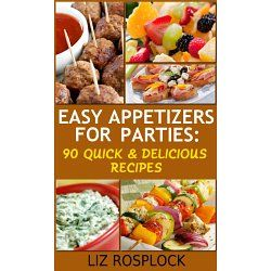 Free Culinary Books | Free Kindle Cooking Book – Easy Appetizers For Parties