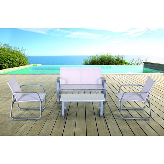 Salon de jardin Gili HESPERIDE | terrasse | Agrément de jardin ...